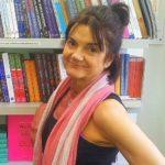 Yoga teacher Diana Holland