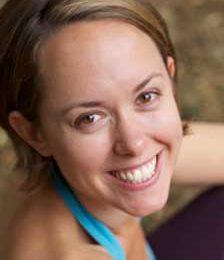 Yoga teacher Kate Walker