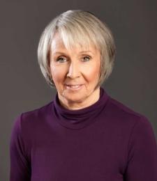 Yoga teacher Louise Grime