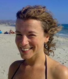 Yoga teacher Luisa Rennie
