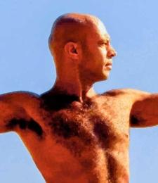 Yoga teacher Luiz Vega