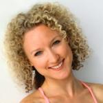 Yoga teacher Natasha Kerry