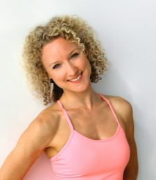 Yoga teacher Natasha Kerry