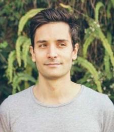 Yoga teacher Nick Cervonaro