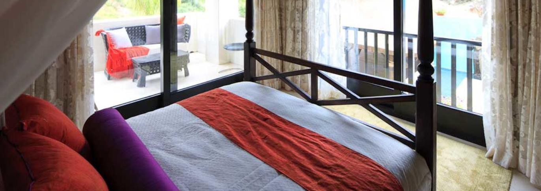 A bedroom at Shanti Som