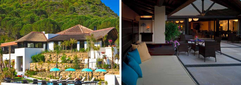 Exterior and interior views of Shanti Som