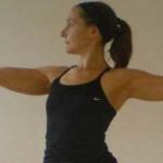 Yoga teacher Sophie Lewis