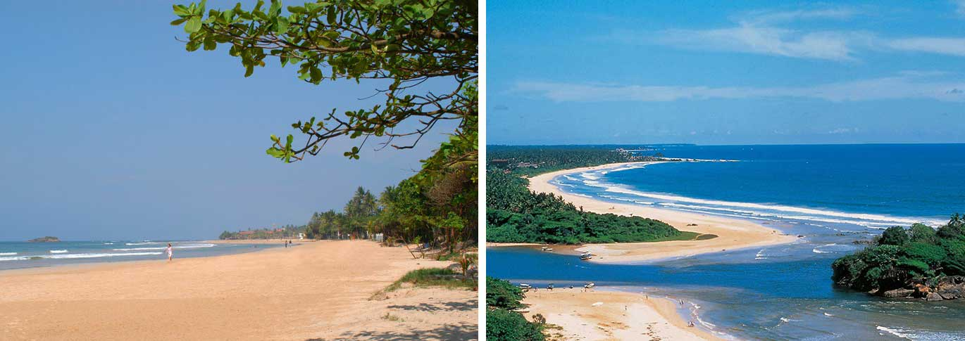 Beaches near Lanka Princess
