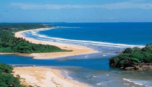 Sri Lankan coastline